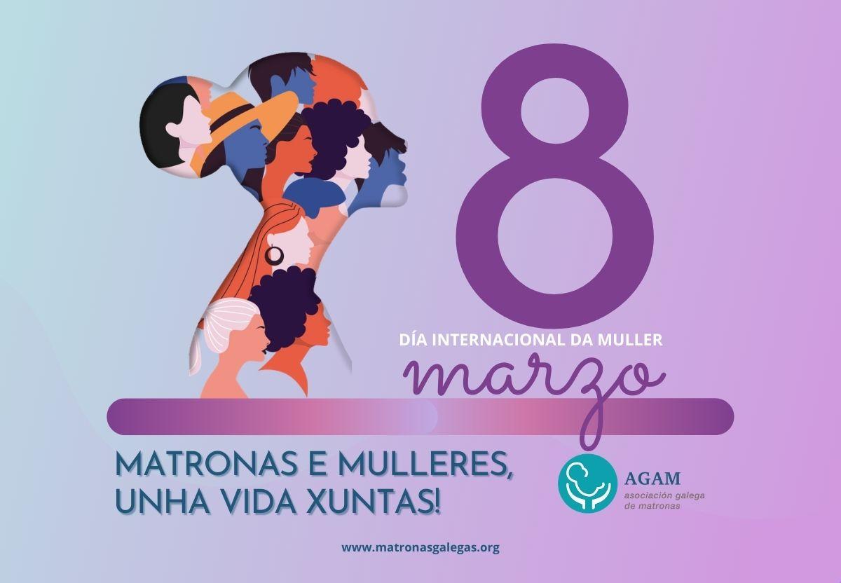 8 marzo dia internacional da muller matronas galegas