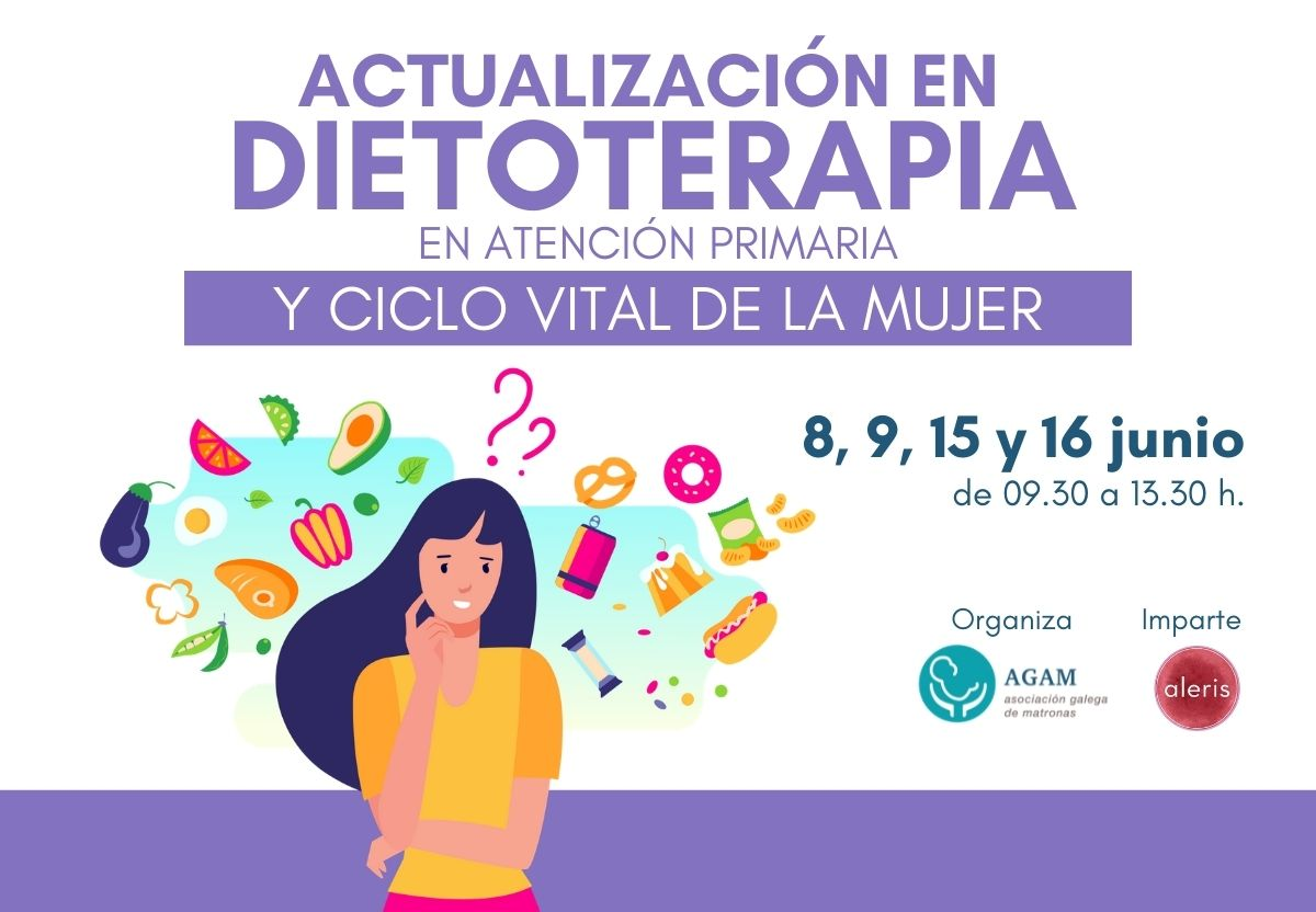 Curso nutricion matronas centro aleris AGAM 2021